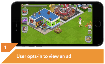 Image of VRTCAL's in-game mobile ads